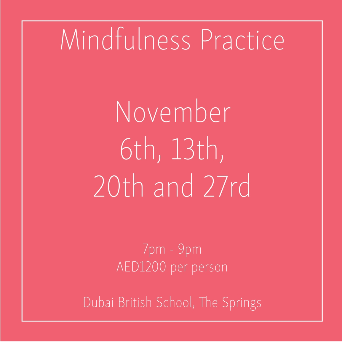Mindfulness November Mondays_Social Media Art 1