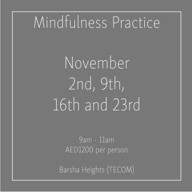 Mindfulness November Thursdays_Social Media Art 1