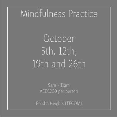 Mindfulness October Thursdays_Social Media Art 1