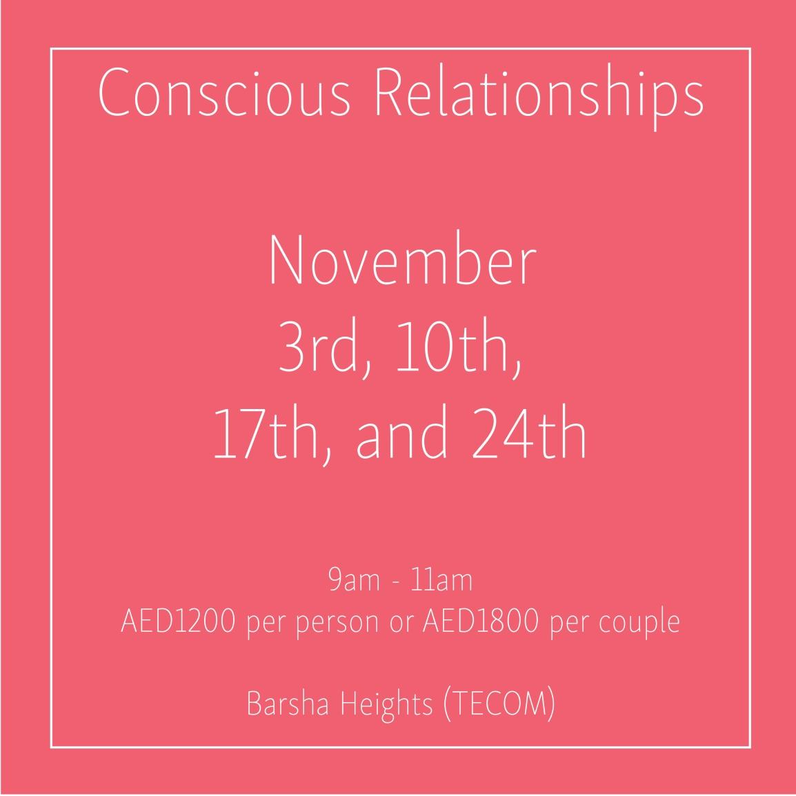 conscious relationships november_Social Media Art 1