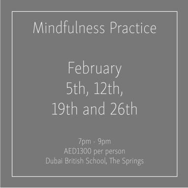 course banner Mindfulness Mondays February 2018_Social Media Art 1