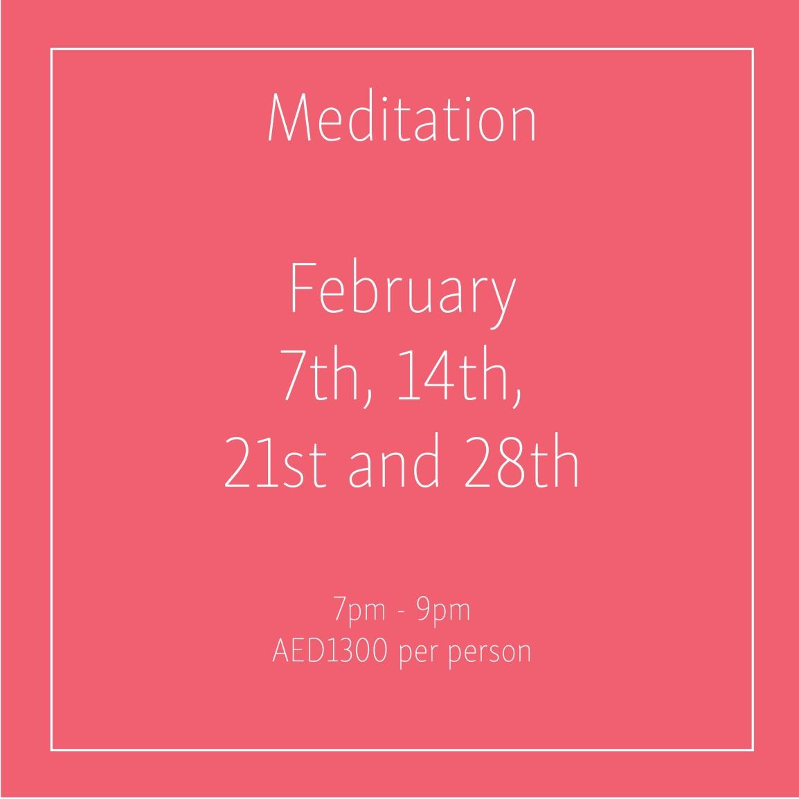 Meditation February_Social Media Art 1