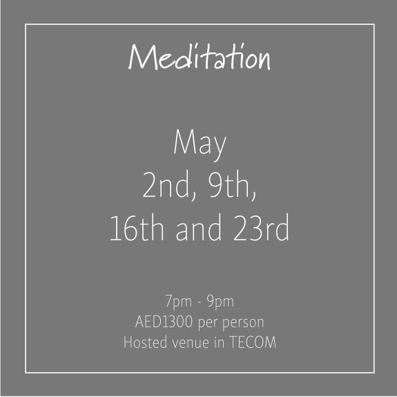 Meditation May_Social Media Art 1