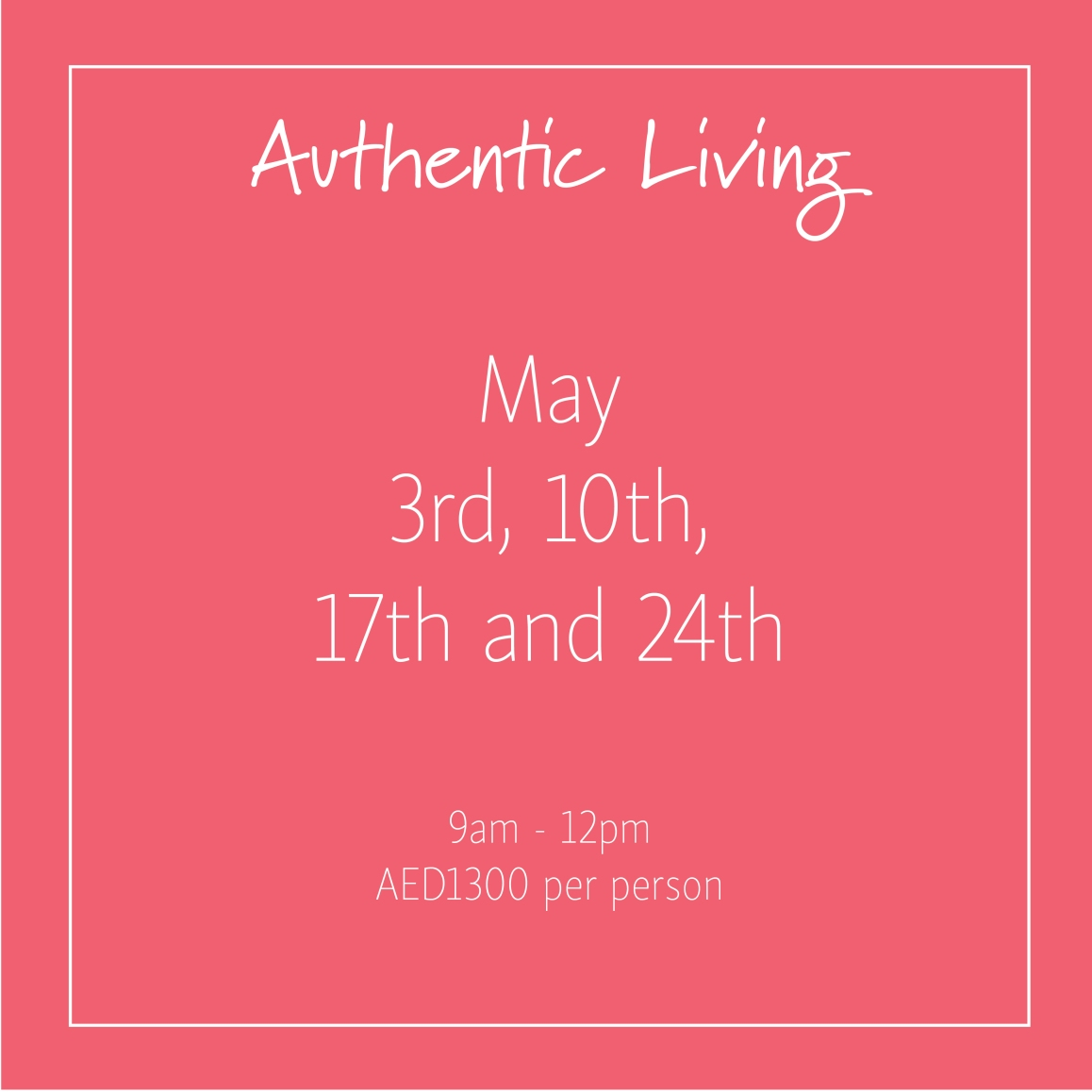 Authentic Living May_Social Media Art 1