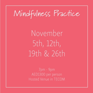 course banner Mindfulness Mondays November_Social Media Art 1