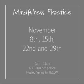 course banner Mindfulness Thursdays November_Social Media Art 1