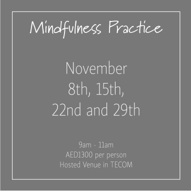 course banner Mindfulness Thursdays November_Social Media Art 1