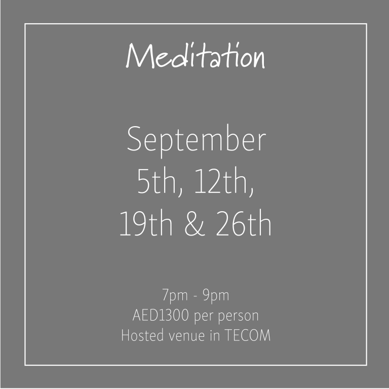 Meditation September 2018_Social Media Art 1