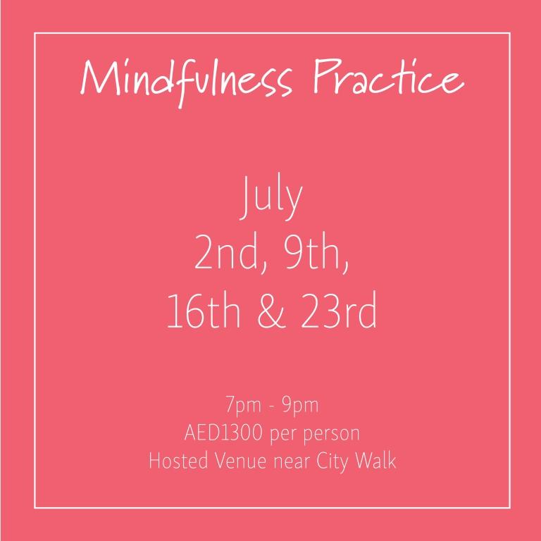 course banner Mindfulness Mondays July 2nd 2018_Social Media Art 1