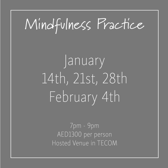 course banner Mindfulness Mondays January_Social Media Art 1