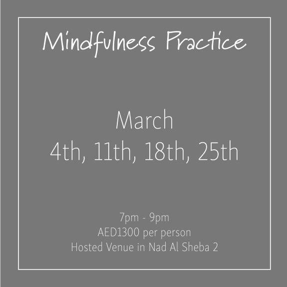 course banner Mindfulness Mondays March_Social Media Art 1