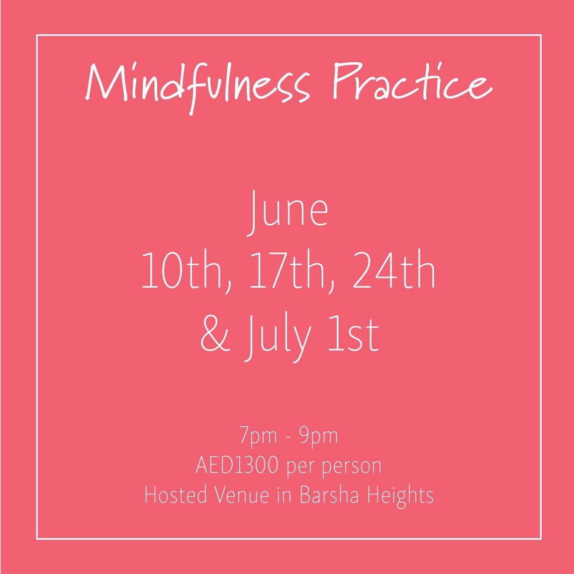 course banner Mindfulness Mondays June_Social Media Art 1