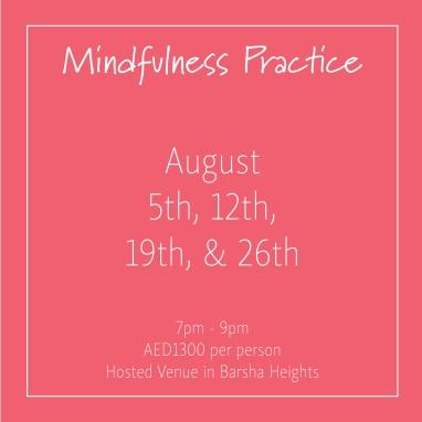 course banner Mindfulness Mondays August_Social Media Art 1