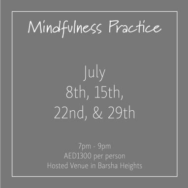 course banner Mindfulness Mondays July_Social Media Art 1